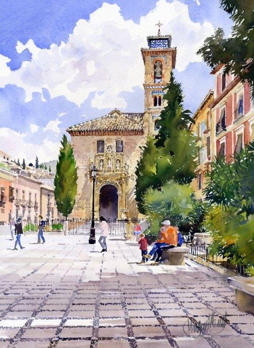 Santa Ana Church, Granada