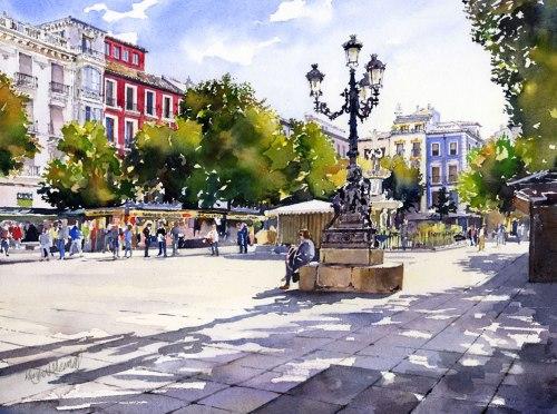 Plaza Bib Rambla, Granada