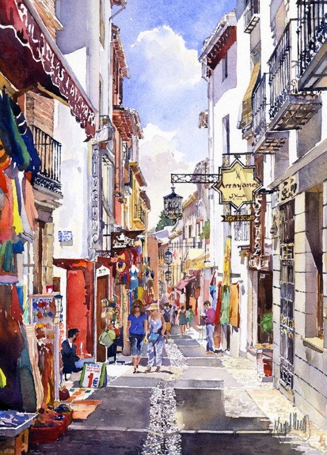 Granada-calle